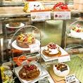 お祝いやパーティーに。常時ホールケーキのご用意もあります★ホールケーキはHPからでも予約が可能です♪