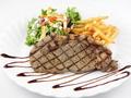 料理メニュー写真牛サーロインのステーキ(150グラム)