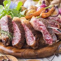【A4 和牛ステーキ】
