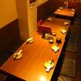 <2F>4名様~10名様まで様々な人数に対応できる仲間内との飲み会、お食事に便利なテーブル席です♪