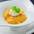 料理メニュー写真柔らかマンゴープリン