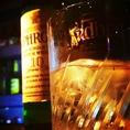 ウィスキー・バーボン・スコッチなど多数♪