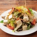 料理メニュー写真豆冨のカラフルサラダ