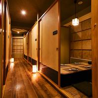 【完全個室】×【15部屋】2名様から個室へ案内♪