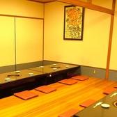 【個室宴会】最大36名まで入れる掘りごたつ席の個室!ぜひ宴会にお使い下さい!