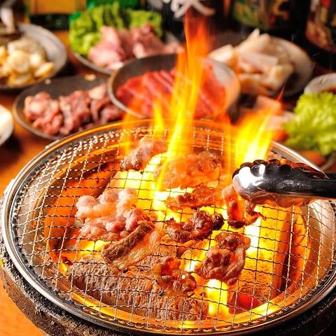 焼肉 食べ放題 炭火焼肉 KAGURA