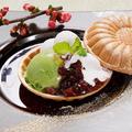料理メニュー写真福岡名産 八女茶の最中アイス
