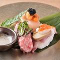 料理メニュー写真世界三大珍味の寿司