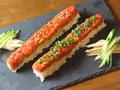 料理メニュー写真黒毛和牛のユッケ寿司
