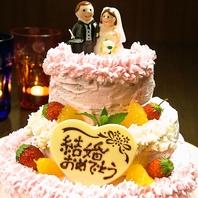 自家製ケーキでサプライズ!!