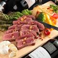 料理メニュー写真【ブラックアンガス牛】サーロインステーキ