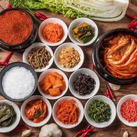 店主がとことんこだわった厳選素材で作る本格韓国料理!