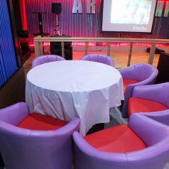 【地域最大級400名様までOK】ゆったりソファー席もご用意できます♪主賓の方はぜひこちらのお席に!新宿貸切 Party Space ARASHI (あらし)