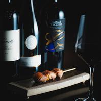 ワイン・日本酒・焼酎・ノンアルコールとドリンクも充実