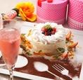 ★ホールケーキ★メッセージをつけて世界に一つのお祝いケーキ◎