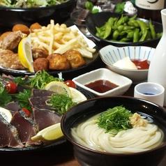 讃岐うどん大使 東京麺通団のコース写真