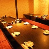 10~25名様はこのサイズのお部屋へ。新宿駅周辺で充実した飲み放題付きコースのある個室居酒屋をお探しでしたら是非、西新宿完全個室居酒屋 柚柚~yuyu~ 西新宿店をご利用ください★個室 新宿 駅近 宴会 女子会 接待 社内宴会 飲み放題 二次会 誕生日会♪