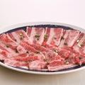 料理メニュー写真自慢のカルビ (タレ/塩)