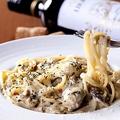 料理メニュー写真牡蠣のクリームパスタ