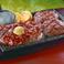 熟成赤身ロースステーキ&牛っと!こぶしハンバーグ レギュラー(225g+200g)