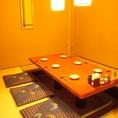 4~8名様の完全個室。