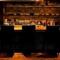 目の前で焼かれる厳選素材が見れるカウンター席は鉄板焼きの醍醐味です♪♪