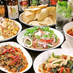 タイ家庭料理 クルア チョントーンのコース写真