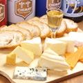 料理メニュー写真おまかせチーズ6種の盛合せ