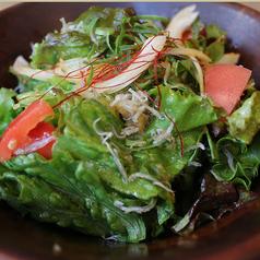 シャコとトマトの和風サラダ