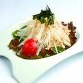 料理メニュー写真大根サラダ/シーザーサラダ/野菜サラダ/豆腐サラダ