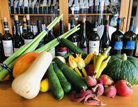 僕たちの農園で育った、こだわり野菜をふんだんに