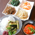 料理メニュー写真ナムル4種盛り