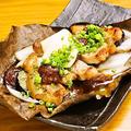 料理メニュー写真豚肉の包葉焼き