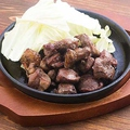 料理メニュー写真やみつき!砂肝と種鶏のスパイス焼き
