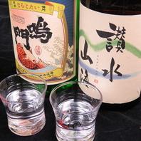仕事帰りのお客様に人気。日本酒の品揃え豊富!