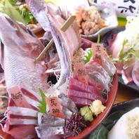 豪華刺盛りは絶品!新鮮で美味しい海鮮料理が◎