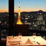 ●東京の夜景と共に