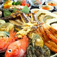 新鮮魚介を常時ご用意。
