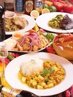 ペルー出身のシェフが作る、本格ペルー料理