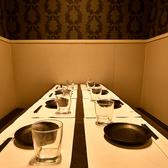 5~8名様向けのお席です。プライベートな飲み会でも◎