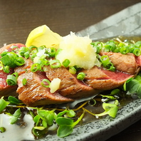 ボリューム満点の肉料理も豊富にご用意☆