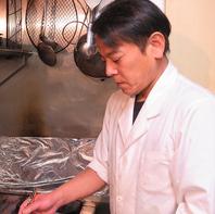 職人が仕上げる魚料理の数々!
