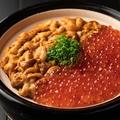 料理メニュー写真雲丹といくらの土鍋御飯