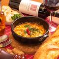 料理メニュー写真ナポリ名物 ズッパフォルテ(ピリ辛ホルモンのトマト煮込み)
