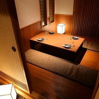 新潟駅徒歩5分。色鮮やかな創作料理と大小の個室を完備