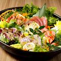 料理メニュー写真本日の鮮魚 豪華5点盛り合わせ