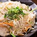 料理メニュー写真ソーメンちゃんぷる/島豆腐ちゃんぷる