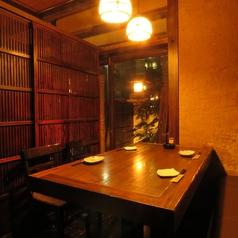 【1F】予約必須。緑鮮やかな人気の個室席