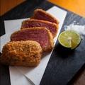 料理メニュー写真牛ヒレ肉のレアカツ
