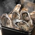 料理メニュー写真牡蠣のガンガン焼 6個
